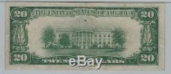 Rare! 1928 $20 Gold Certificate Note Woodsmellon Pmg Very Fine 30