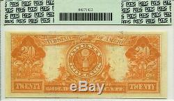 Rare Note1906 $20 Gold Certificate Fr 1185 Pmg Extremely Fine 45