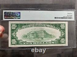 STAR NOTE1928 $10 Gold Certificate PMG 35 Very Fine FR2400 FAST SHIPPING