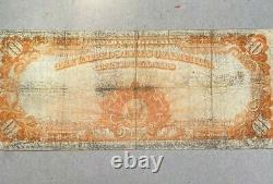 Series 1922 $10 Gold Certificate Fine