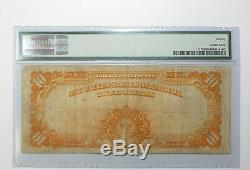 Series of 1922 Large Size $10 Gold Certificate Note PMG 20 VERY FINE Fr#1173