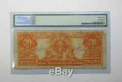 Series of 1922 Large Size $20 Gold Certificate Note PMG 25 VERY FINE Fr#1187