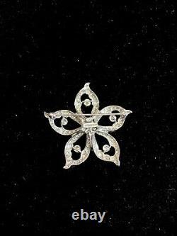 Tiffany & Co. 18KWG 9 Carat Diamond Brooch/Pin w UGL Certificate w $60K COA