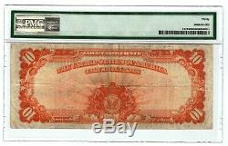 Tr 1922 Pmg 30 Very Fine $10 Large Size Gold Certificate Finest Available