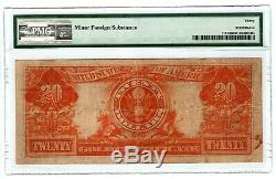Tr 1922 Pmg 30 Very Fine $20 Large Size Gold Seal Gold Certificate Nice