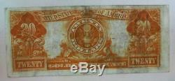 Very Fine 1906 $20.00 Large Size Gold Certificate Free USA Shipping